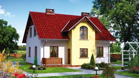 Красивый проект уютного дома 11 на 11