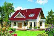 Симпатичный загородный особняк с пятью комфортабельными комнатами