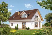 Архитектурный проект загородной усадьбы с площадью 170 m²