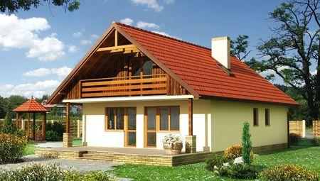 Архитектурный проект современного дома с большими и уютными комнатами