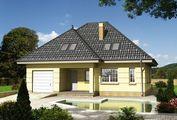 Проект загородной усадьбы с площадью 200 m²