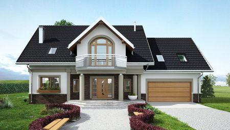 Роскошный загородный дом с шестью спальнями и зоной отдыха