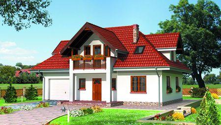 Проект дома с мансардой 12 на 12 м