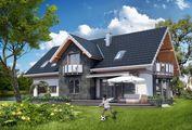 Великолепный проект дома с гаражом на два автомобиля