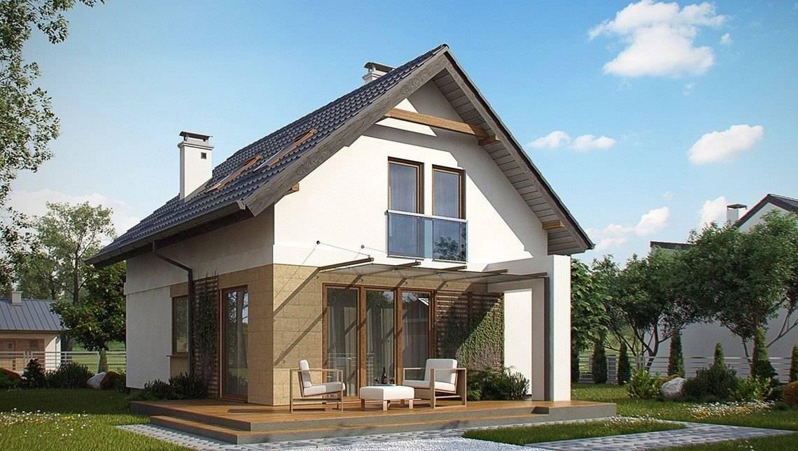 Проект малогабаритного дома для узкого участка
