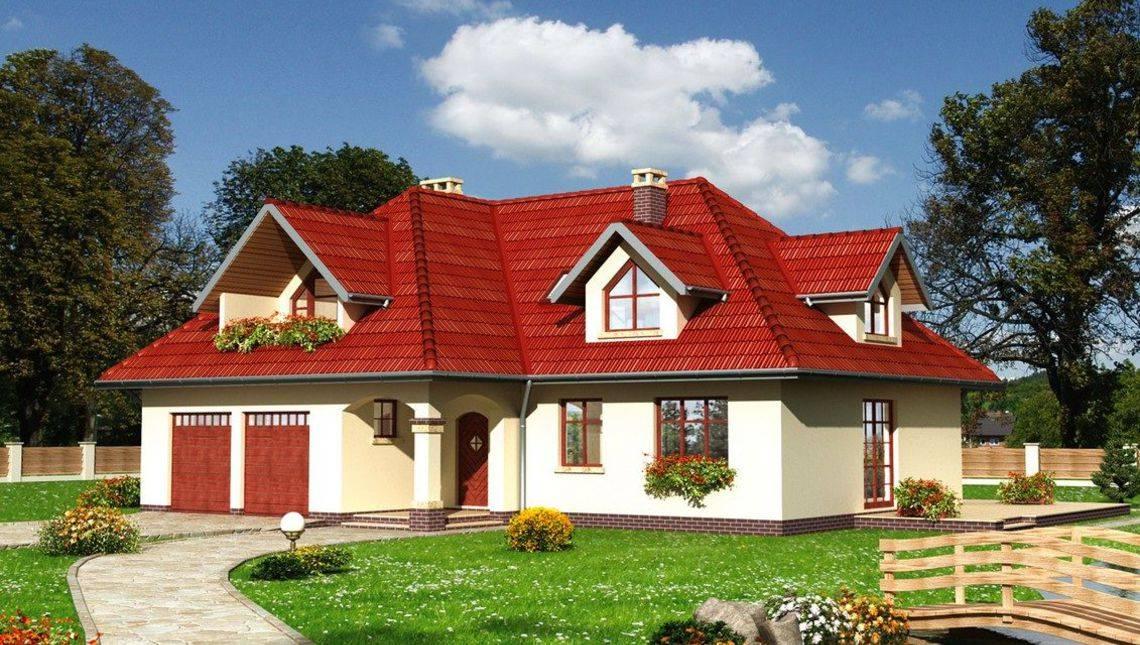 Жилой дом площадью 150 м2 современной планировки