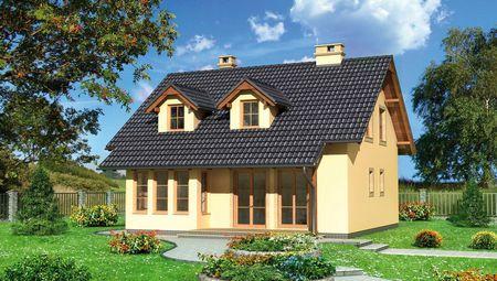 План восхитительного особняка с просторными комнатами