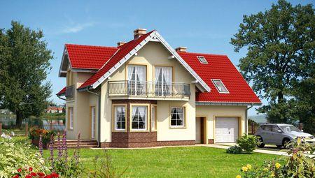 План шикарного особняка жилой площадью 150 м2