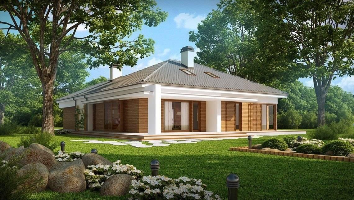 Проект дачного дома в традиционном стиле