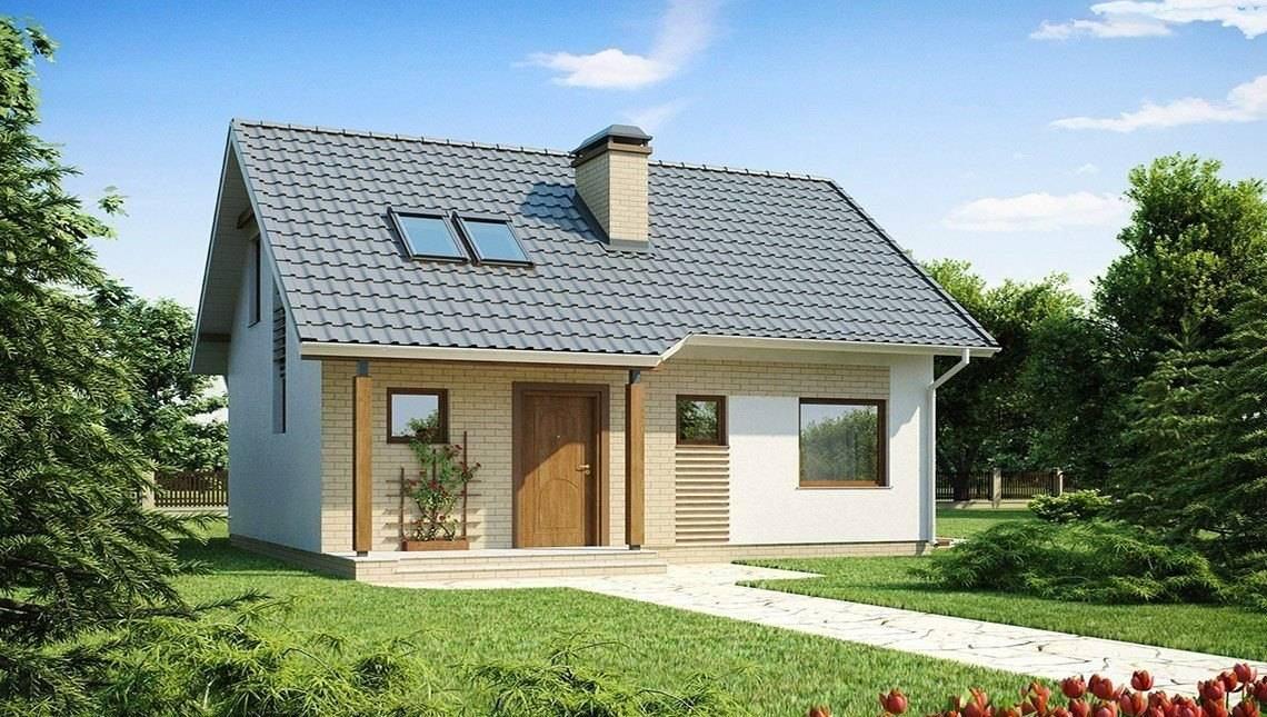 Проект небольшого летнего домика