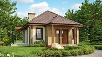 Проект комфортного гостевого домика