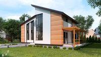 План шикарного дома площадью 220 м2 с пятью спальнями