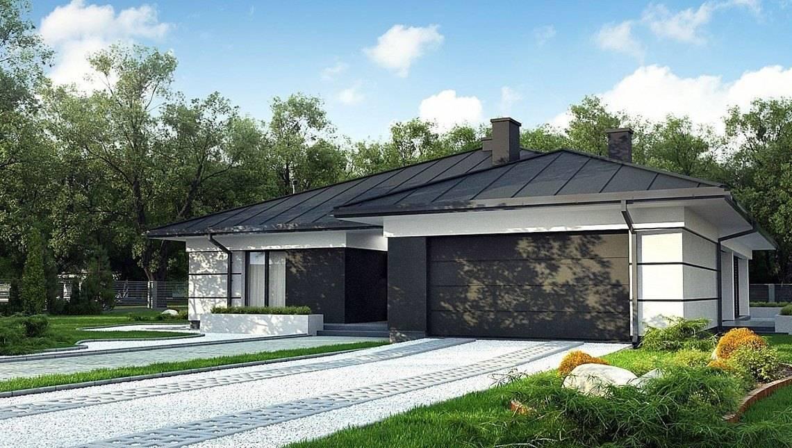 Одноэтажный дом 180 m² в современном стиле