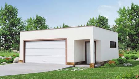 Минималистичный проект гаража на две машины