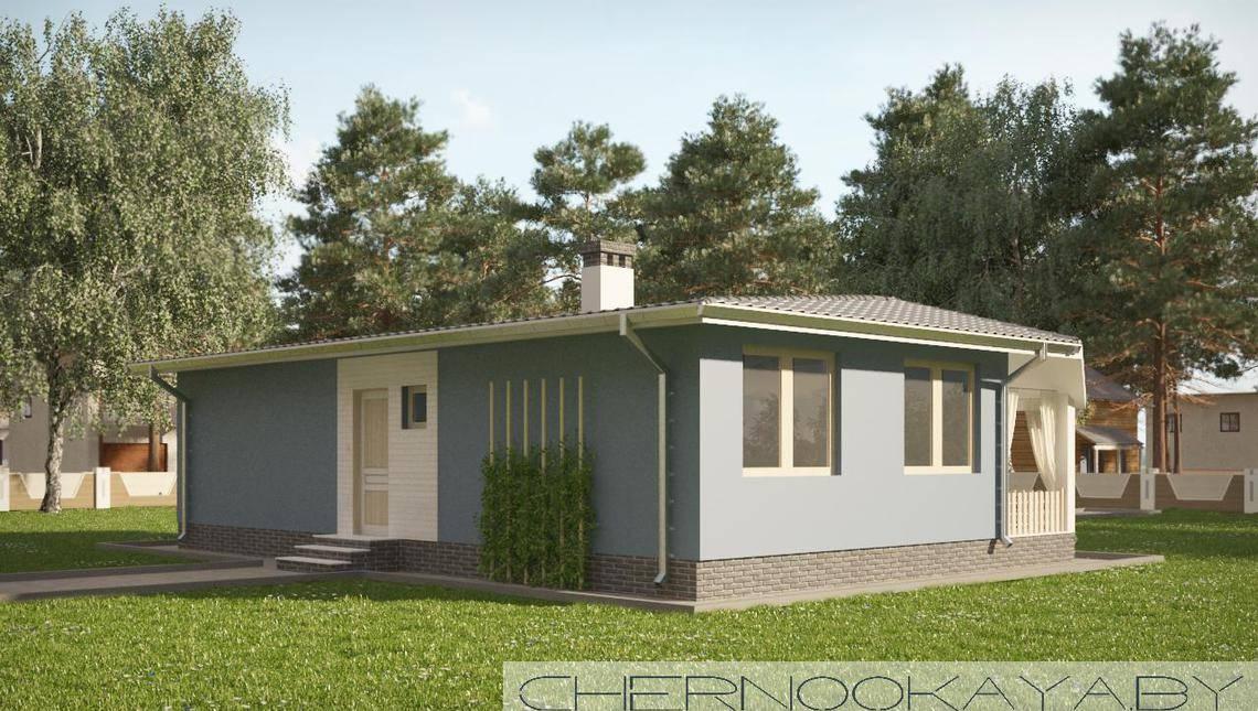 Загородный дом с просторной мастерской
