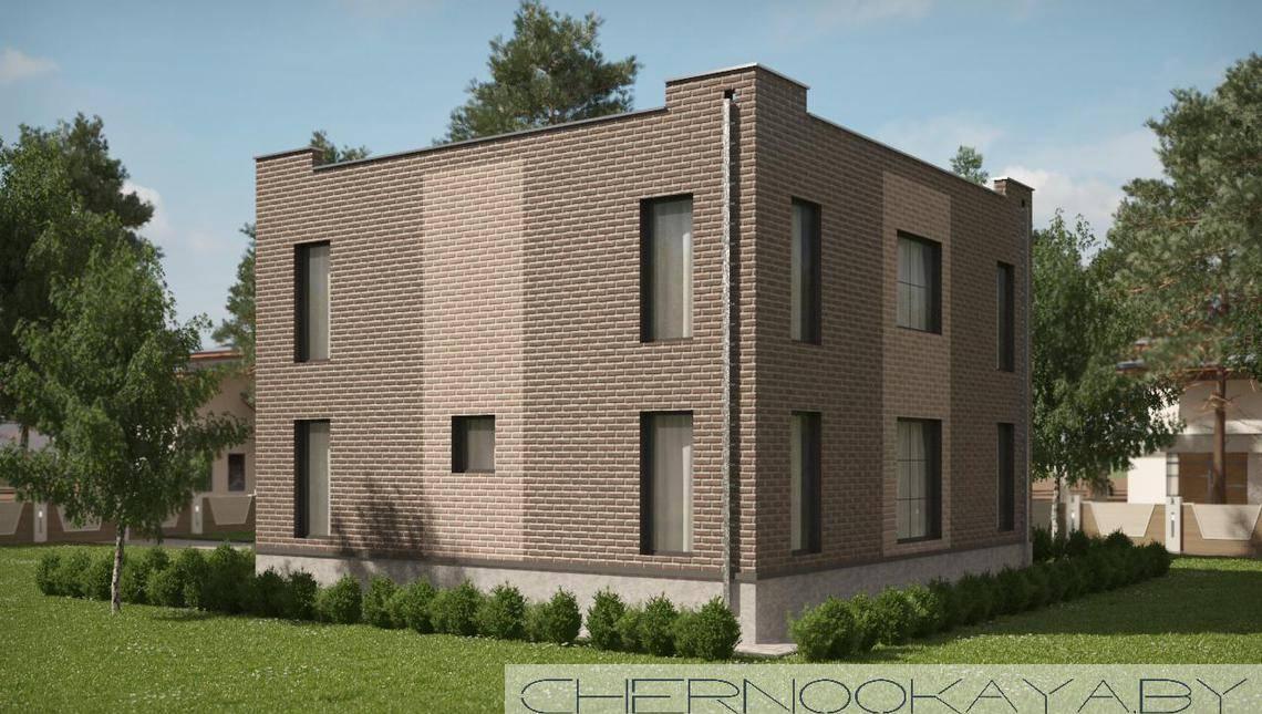 Двухэтажный особняк с просторными гостиными
