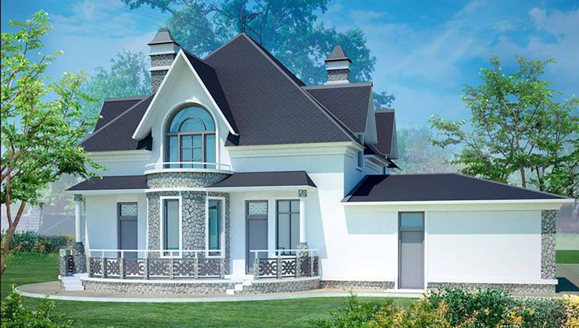 Проект красивого небольшого дворца