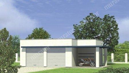 Проект аккуратного гаража на две авто