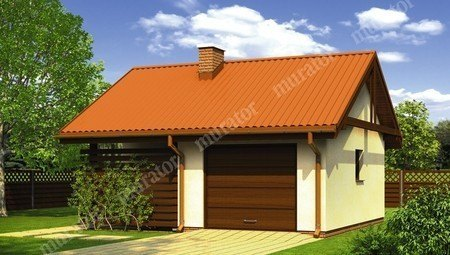 Проект красивого гаража