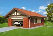Проект превосходного гаража на 2 машины