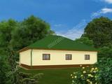 Проект гаража на 2 машины с жилыми помещениями