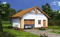 Проект небольшого красивого гаража