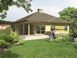 Проект светлого дома с 4 спальнями