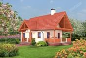Проект компактного небольшого дома