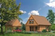 Проект уютного деревянного дома