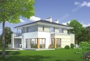 Проект стильного двухэтажного особняка