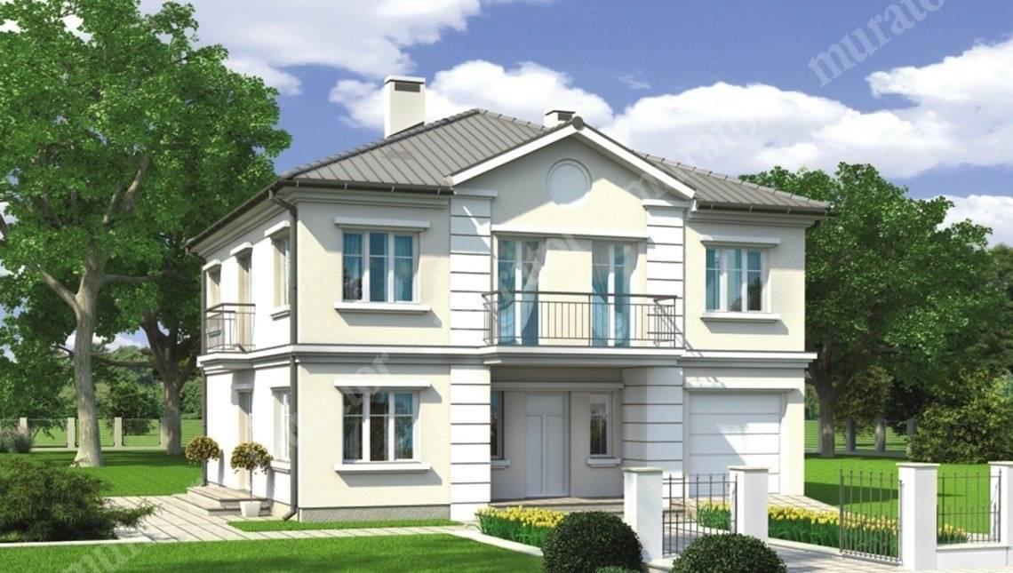 Проект современного двухэтажного особняка