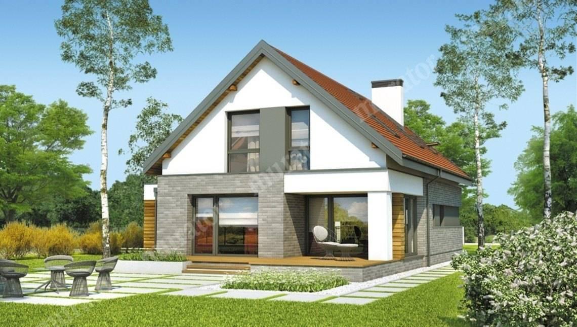Проект двухэтажного дома на 130 м2