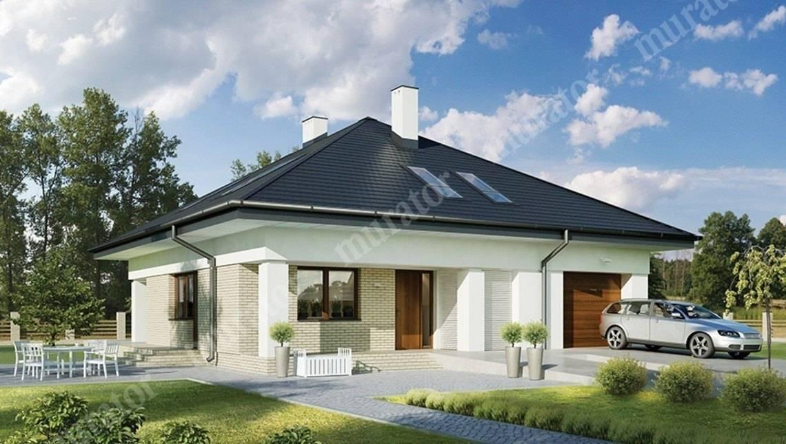 Проект двухэтажного представительного жилого дома