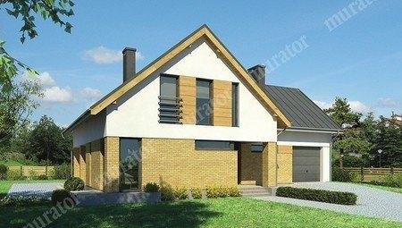 Проект двухэтажного дома на 6 пален