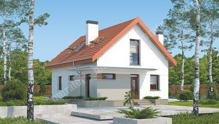 Проект миловидного двухэтажного дома на 5 спален
