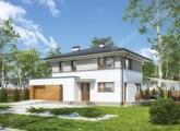 Проект солидного двухэтажного дома