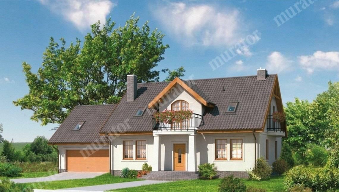 Проект двухэтажного дома в классическом стиле