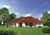 Проект привлекательного дома с мансардой