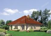 Проект красивого жилого дома с двумя верандами