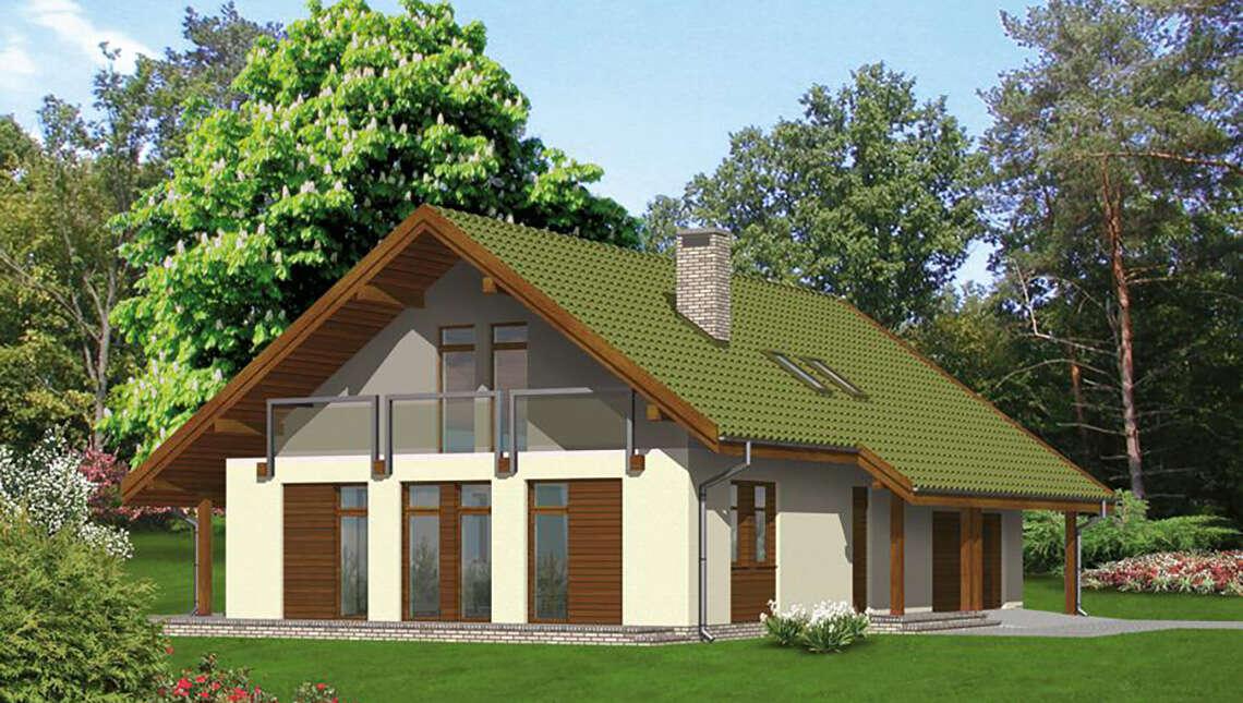 Проект двухэтажного дома на 150 м2