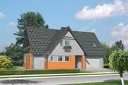 Проект яркого жилого дома