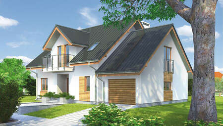 Проект роскошного двухэтажного дома