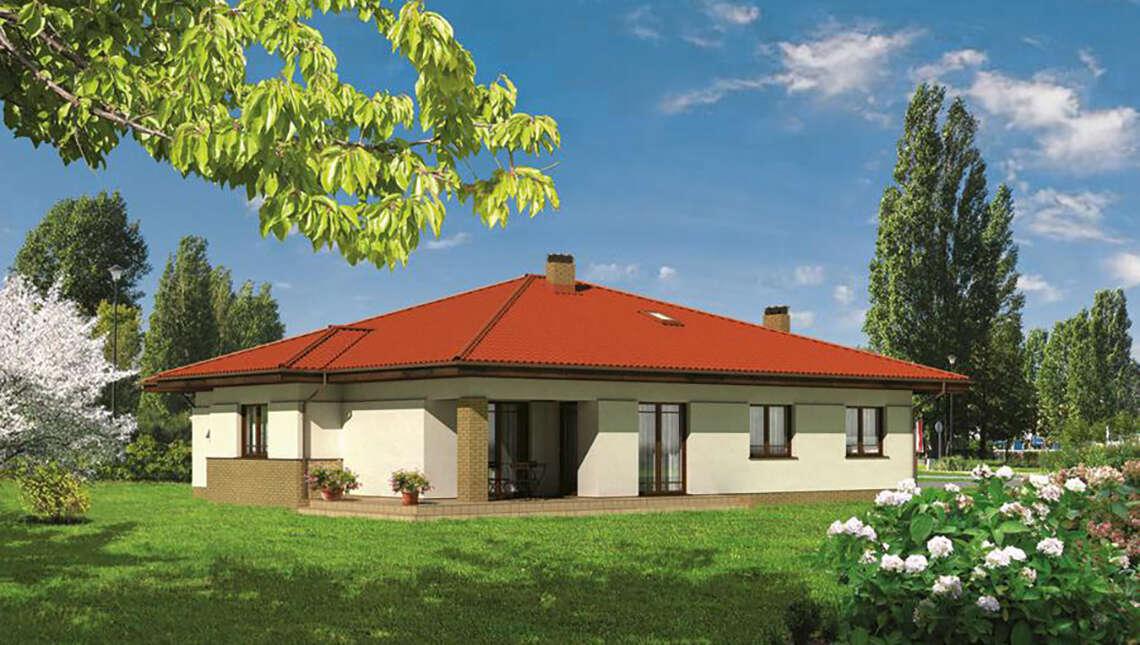 Проект просторного дома на 130 м2