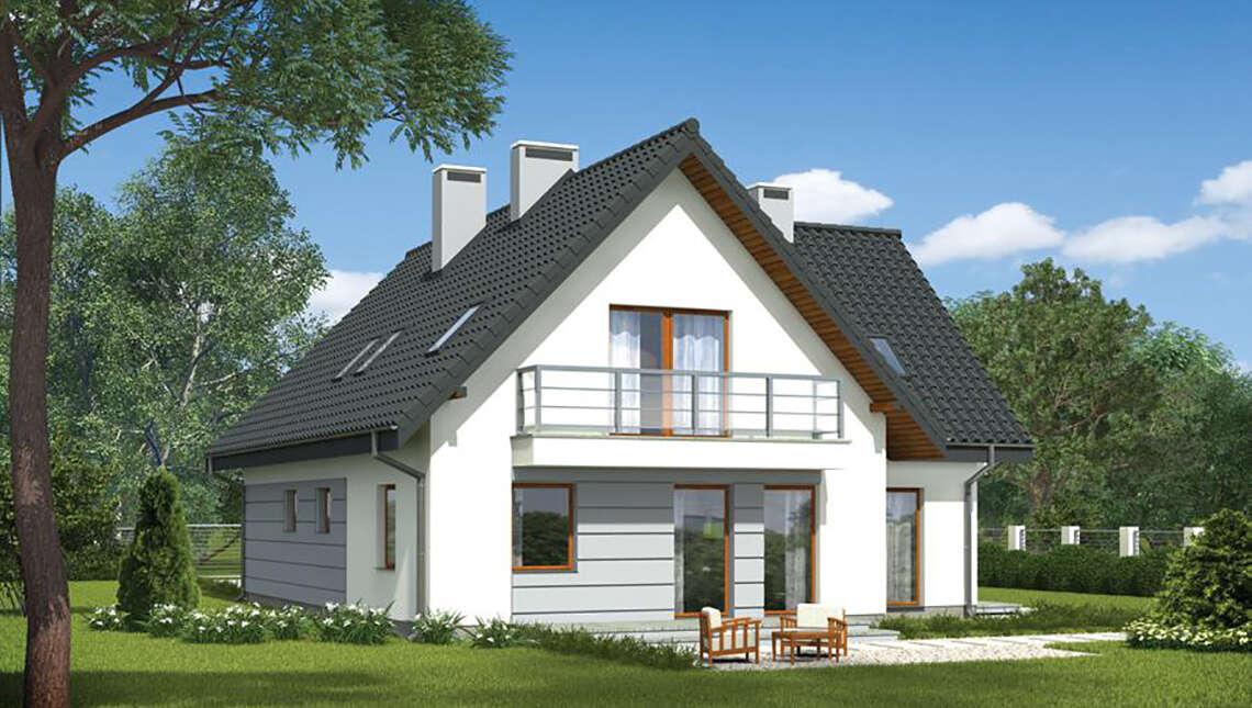 Проект привлекательного дома на 6 спален