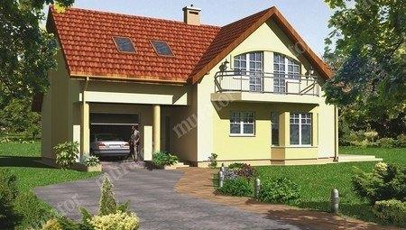 Проект праздничного жилого дома интересной планировки