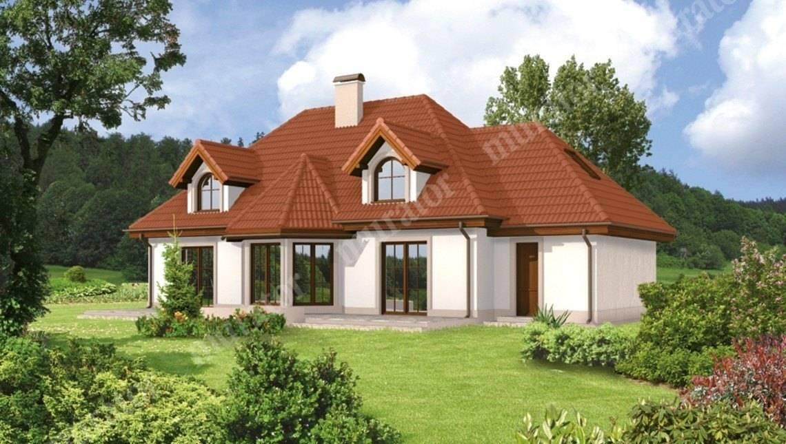 Проект великолепного двухэтажного жилого дома