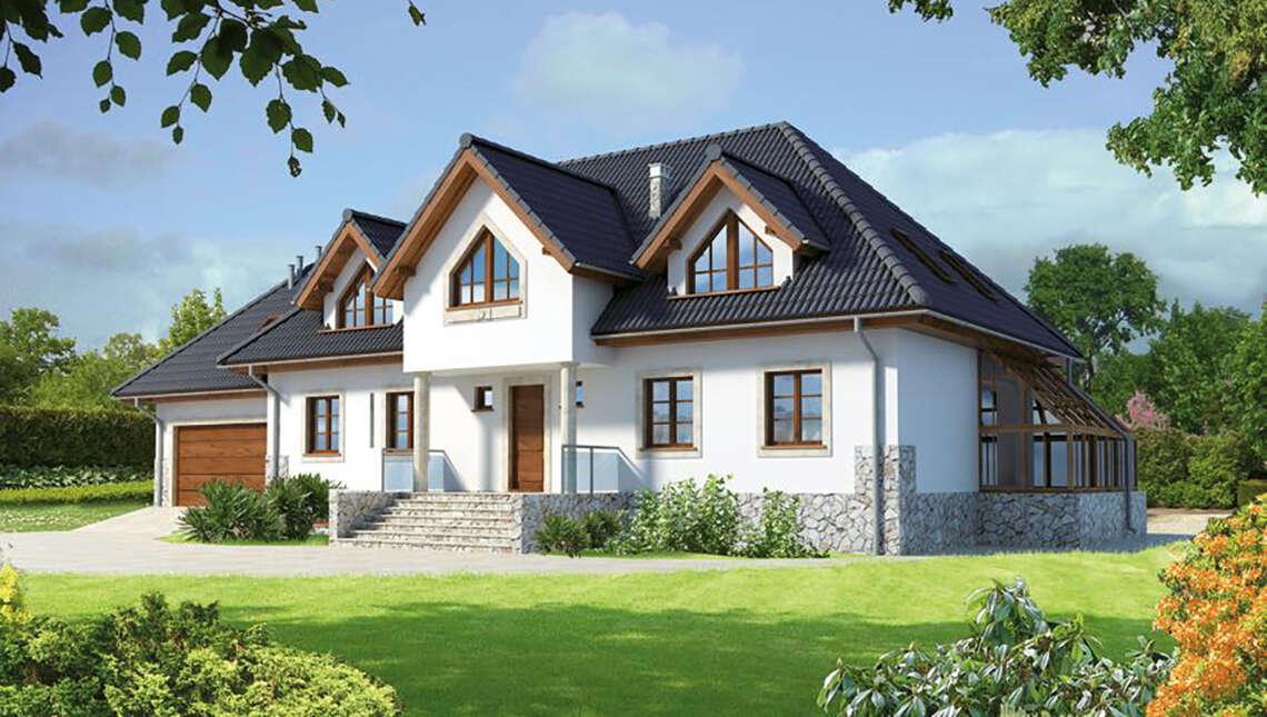 Привлекательный жилой дом
