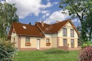 Двухэтажный илой дом привлекательного вида