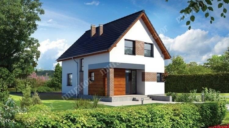Проект симпатичного двухэтажного жилого дома