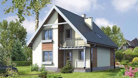 Восхитительный двухэтажный дом на 3 спальни